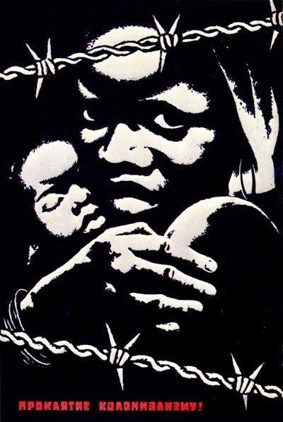 50 cartazes soviéticos, cubanos, chineses e dos Panteras Negras sobre as lutas dos povos negros e africano | Comitê de Luta Pelo Socialismo - Rio de Janeiro