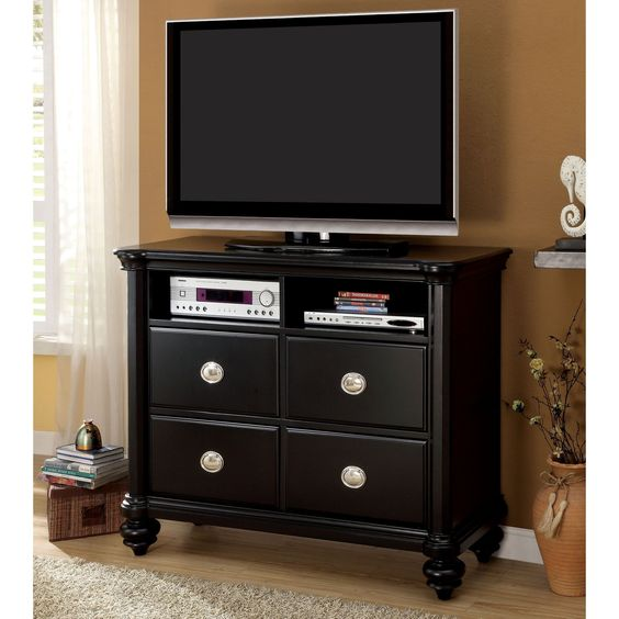 Furniture of America Selinea Modern Media Chest