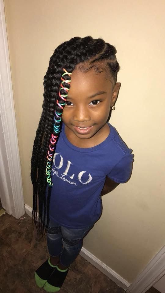 This Is How Big A Looks Now Little Girl Braids Toddler