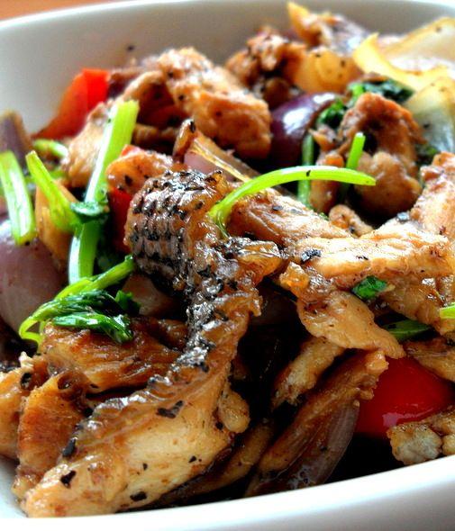 frozen wings: Stir fry Fish Fillet with Black Pepper ( 黑椒鱼片)