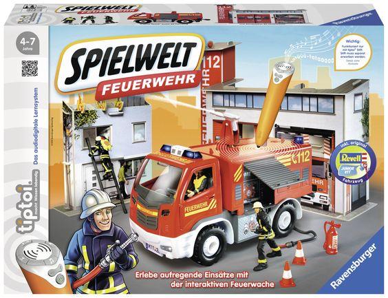 Feuerwehr Spielwelt von tiptoi Ravensburger