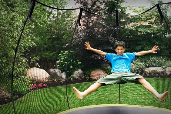 See what happens when you get an Alley Oop or Springfree Trampoline from Play N' Learn!