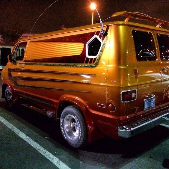 70s Dodge Van