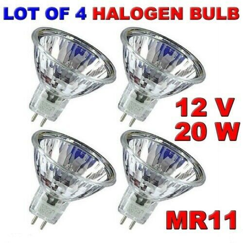 Mr11 Halogen Light Bulb 12 Volt 30 Degree Beam 20 Watt Replacement Bi Pin Gu4 Trisonic Halogen Light Bulbs Bulb Halogen Bulbs
