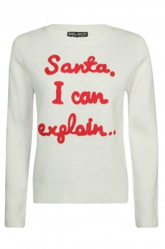 Santa, I can explain..... Select