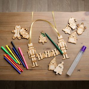 Children's Christmas Decorations Kit 'Make Your Own' - decoration making kits