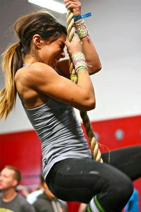 Strong crossfit girl