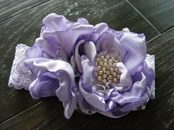 New Lavender Special Occasion Headband by chickapeecreations, $23.00