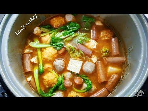 Diy Tom Yam Steamboat Rice Cooker Dgn Kuah Tom Yam Untuk Menyambut Malam Tahun Baru Youtube Food Food And Drink Yams