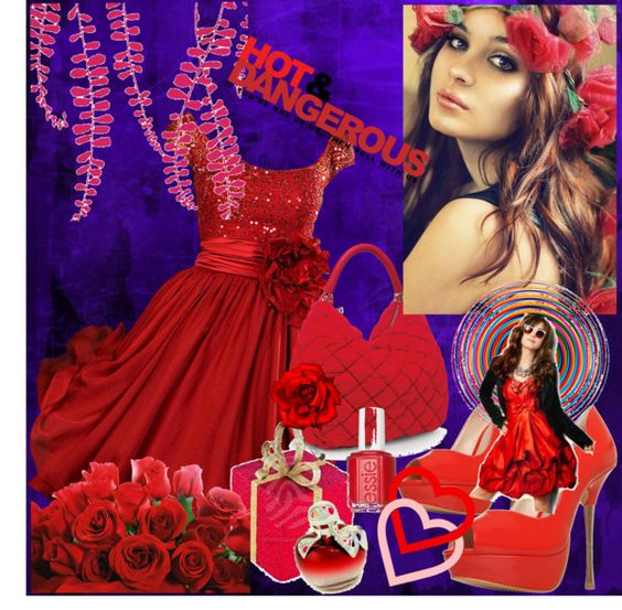 """Hot And Dangerous!"" by glitterlady4 on Polyvore"