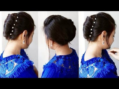 Quick N Easy French Bun French Roll French Twist Tutorial Alwaysprettyuseful By Pc Youtube Cute Hairstyles For Short Hair Easy Hair Updos Long Hair Styles