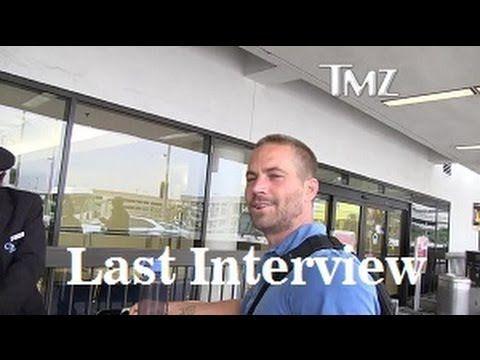 Paul Walker TOT:  Letztes Interview R.I.P Paul Walker!