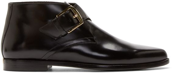 Burberry London - Black Leather Harlestone Derbys