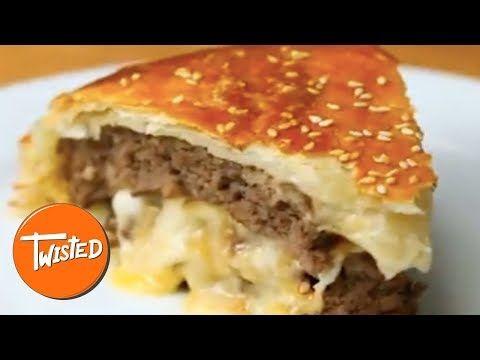 Cheese Stuffed Burger Wellington ─ Twisted in 2019