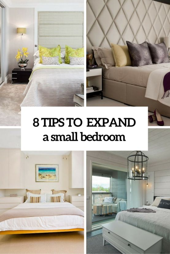 How to Make a Small Bedroom Look Bigger - LUXURY LINENS MAGAZINE