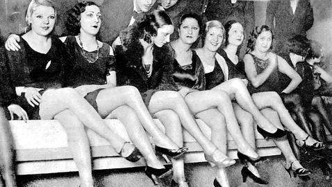 """Efemérides de Madrid. 2 de enero. """"Imagen fuente de ABC. Perteneciente a la sección del concurso Miss pantorrilla (1929)""""."""