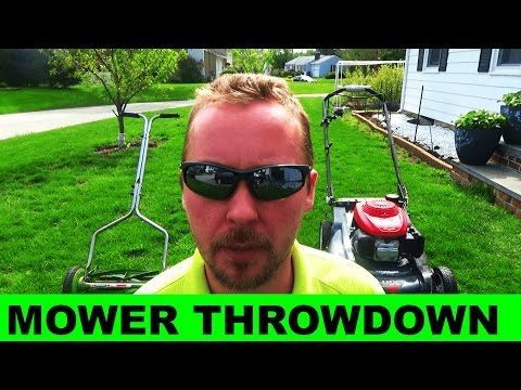 58 Reel Mower Vs Rotary Mower Which Is Better Youtube Rotary Mower Reel Mower Reel Lawn Mower