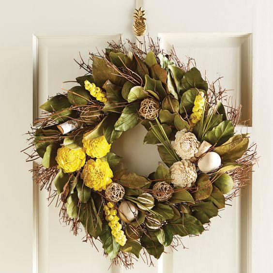 Lemon Scented Wreath