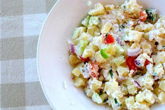 Mediterraanse aardappelsalade | Lekker en Simpel