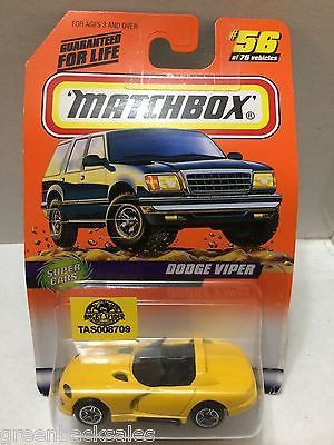 (TAS008709) - Matchbox Racing Car - Dodge Viper