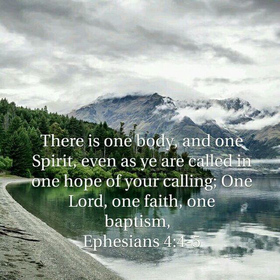 Ephesians 4:4-5