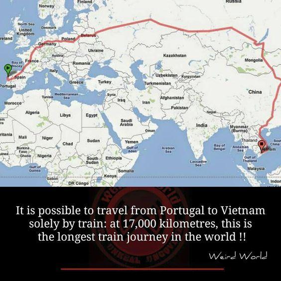Portugal é o ponto de partida da viagem de comboio mais longa do mundo | Revista PORT.COM - Notícias de Portugal e das Comunidades