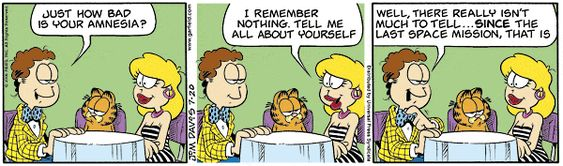Garfield Comic Strip, July 20, 2006     on GoComics.com
