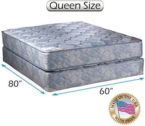 Shop For Chiro Premier 2 Sided Orthopedic Blue Color Queen Mattress Set Bed Frame Included Spine Support Longlasting Comfort Dream Solutions Usa Online In 2020 Mattress Sets Queen Mattress Set Mattress Box Springs