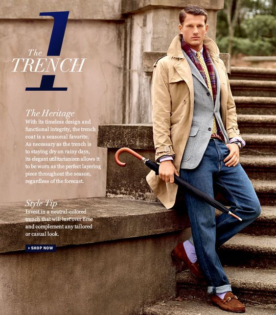 Ralph Lauren Spring Essentials - I'm really loving the yellow tie and the lavender socks. Great.