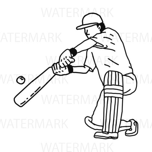 Cricket Sport Player Hitting Bat B Jpgstock Cricket Sport Sport Player How To Draw Hands