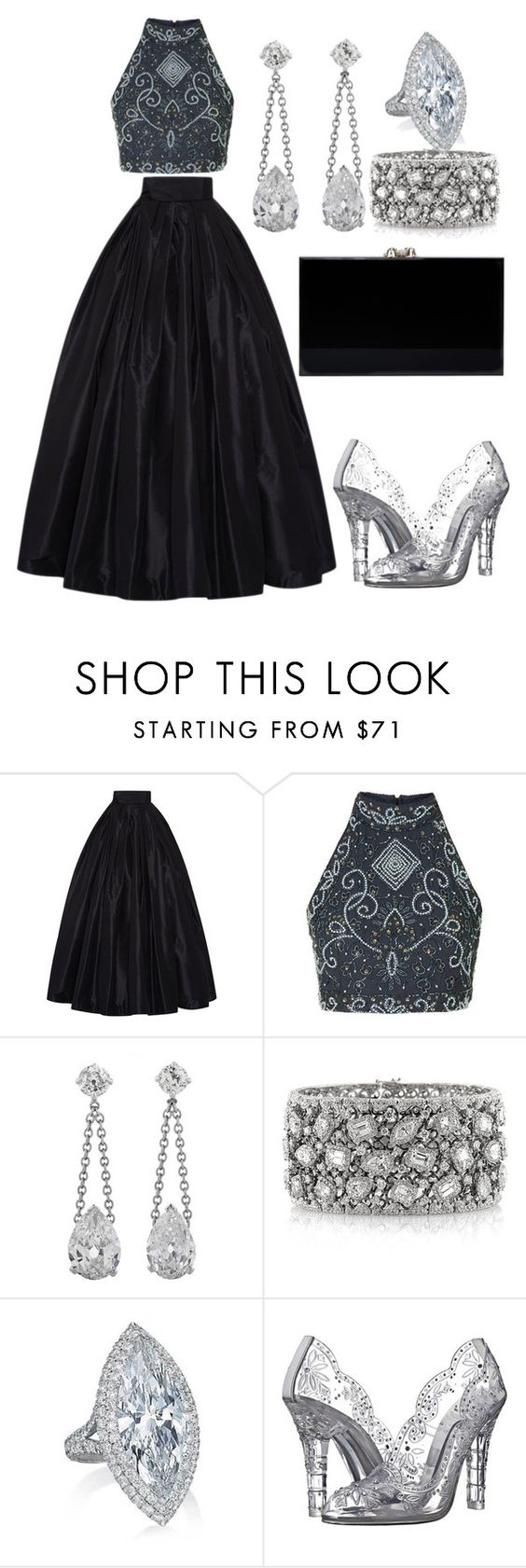 """""""Untitled #1177"""" by wikiheart ❤ liked on Polyvore featuring Naeem Khan, Mark Broumand, Dolce&Gabbana and Charlotte Olympia"""