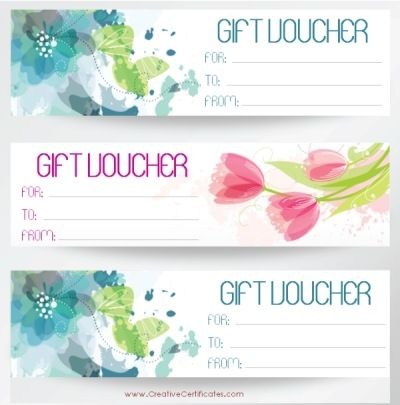Free printable gift vouchers Instant download No registration - homemade gift certificate templates
