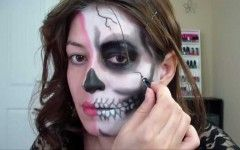 Halloween Makeup Background Images