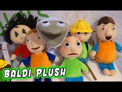 Baldis Basics Official Plush Figures Set Mega Preview - roblox plush set of 4 make your own