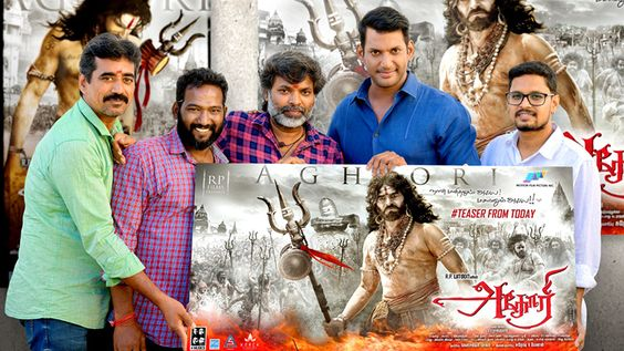 Actor Vishal Launched Aghori Movie Teaser