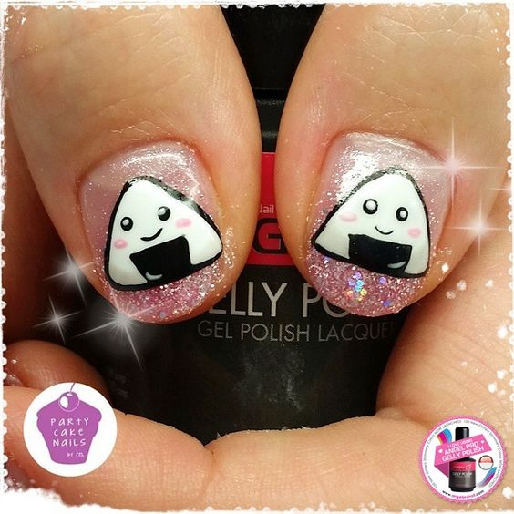 #angelprogelly #nail #nailart #naildesign #gellyart  #kawaiinail #kawaii