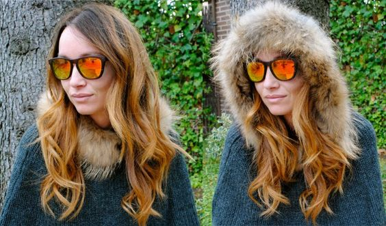 Ana Antic con sus gafas de Life Italia