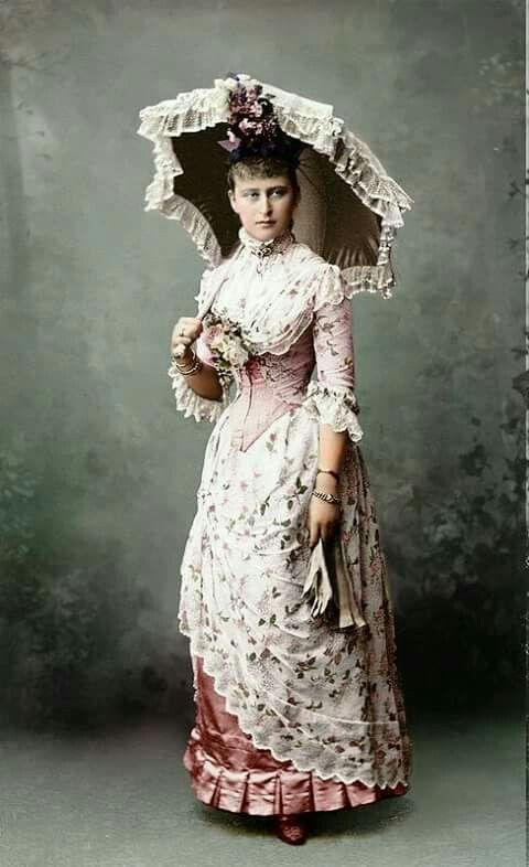 Summer dress 1880's