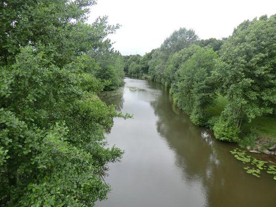 la rivière qui traverse la commune exportée via le site du comité de jumelage