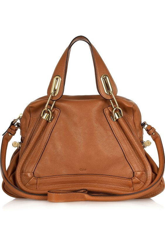 cloie bags - Chlo�� Paraty medium leather bag || Crafted in smooth tan leather ...