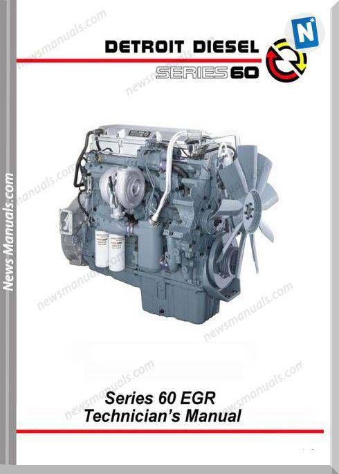 Detroit Diesel Series 60 English Technician Manual Detroit Diesel Detroit Diesel
