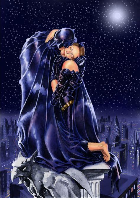 Batman And Catwoman Kiss Wwwpixsharkcom Images Sassy