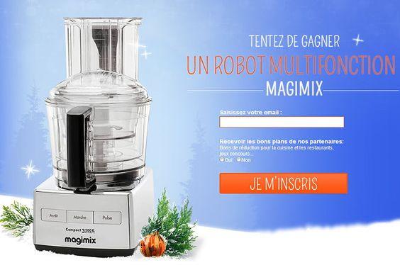 Gagnez un robot multifonction MAGIMIX compact 3200XL chrome