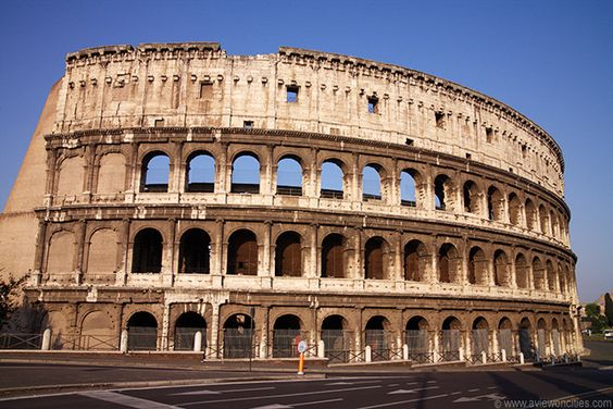 More Colosseum...what an incredible view.