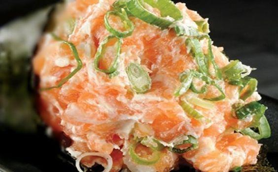 Receita de temaki com salmão para a fase cruzeiro PL dukan.