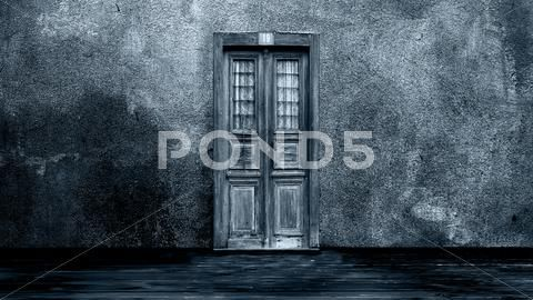 Horror Scene Of Mysterious Door Stock Photos Ad Mysterious Scene Horror Photos Horror Photos Horror Photography Backdrop Stand