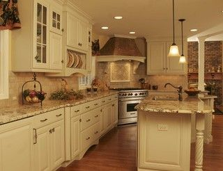 French Country Kitchen - Traditional - Kitchen - chicago - by Normandy Remodeling