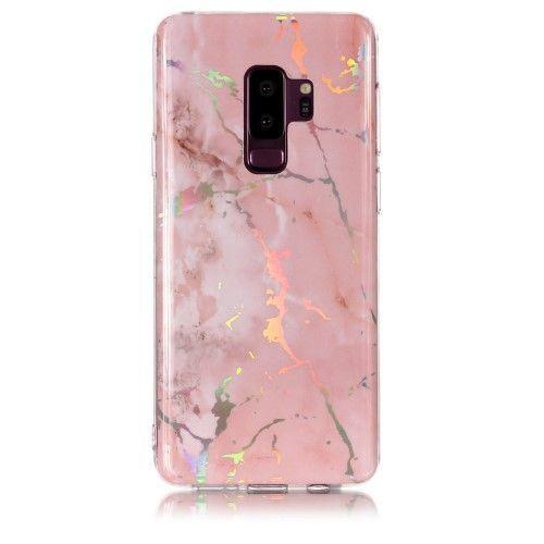Coque Samsung Galaxy S9 Plus Marbre Premium - Rose | Phone cases ...