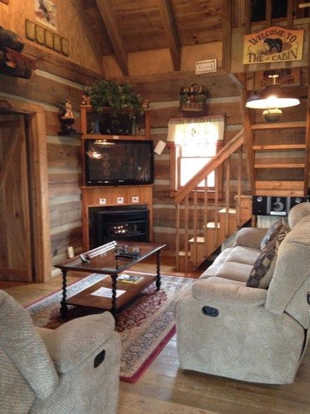 600 Sq Ft Bearadise Tiny Cabin North Carolina pinned by haw