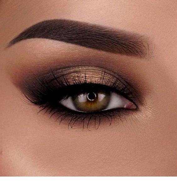All Brown Eye Makeup Smokey